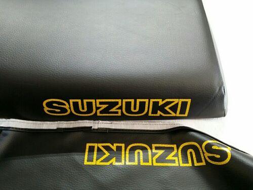 SUZUKI LT230 SEAT COVER QUAD SPORT 1987 MODE  SEAT COVER  BLACK S39--n15
