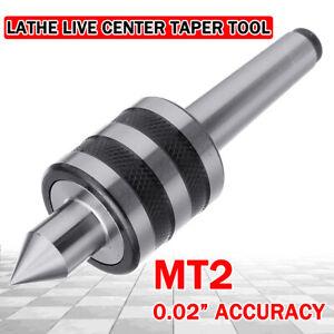 MT2 Live Center Morse Taper Triple Bearing Lathe Centering Tool