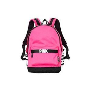 PINK VICTORIA/'S SECRET Handbag Backpack Bookbag Laptop case Schoolbag brand new