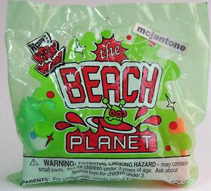 MIP-Wendy-039-s-1998-Beach-Planet-GREEN-SQUIRT-Water-Squirter-ALIEN-Fish-Toy-SAND