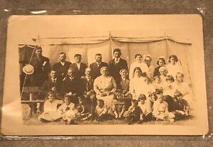 Postcard-Saskatchewan-Canada-Preacher-Tent-Congregation