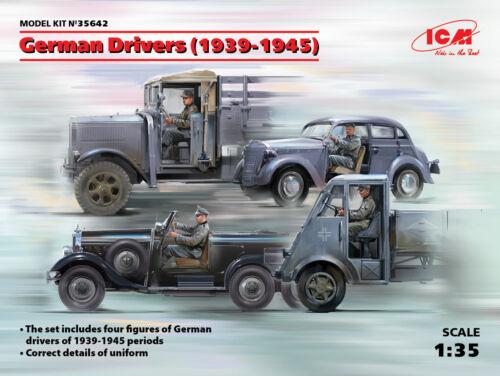 ICM35642-ICM 1:35 alemán controladores 4 higos 1939-1945