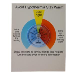 14//865//3 Brannan cardées hypothermie Thermomètre