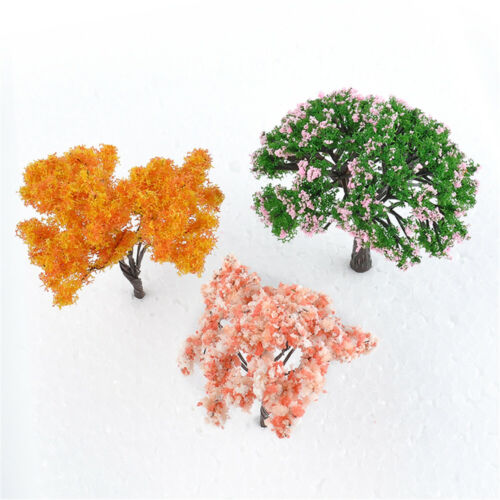 3PCS Mini Tree Miniature Dolls/' House Garden Accessory DIY Plant Fairy Ornament