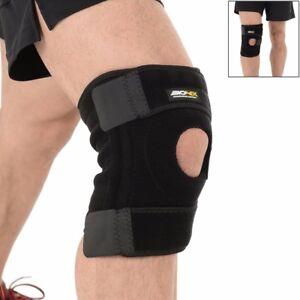 Knee-Support-Brace-Adjustable-Neoprene-Gel-Open-Cap-Patella-Pad-Strap-Stabilize