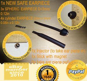 SAFE-HIDDEN-INVISIBLE-MICRO-MINI-SPY-NANO-EARPIECE-HEADSET-EARPHONE-REPLACEMENT