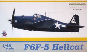 EDUARD 8434. F6F-5 Hellcat - Weekend edition. Kit para montar- Assembly kit 1/48
