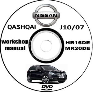 Workshop Manual Manuale    Officina    Nissan Qashqai J10 anno 2007   eBay