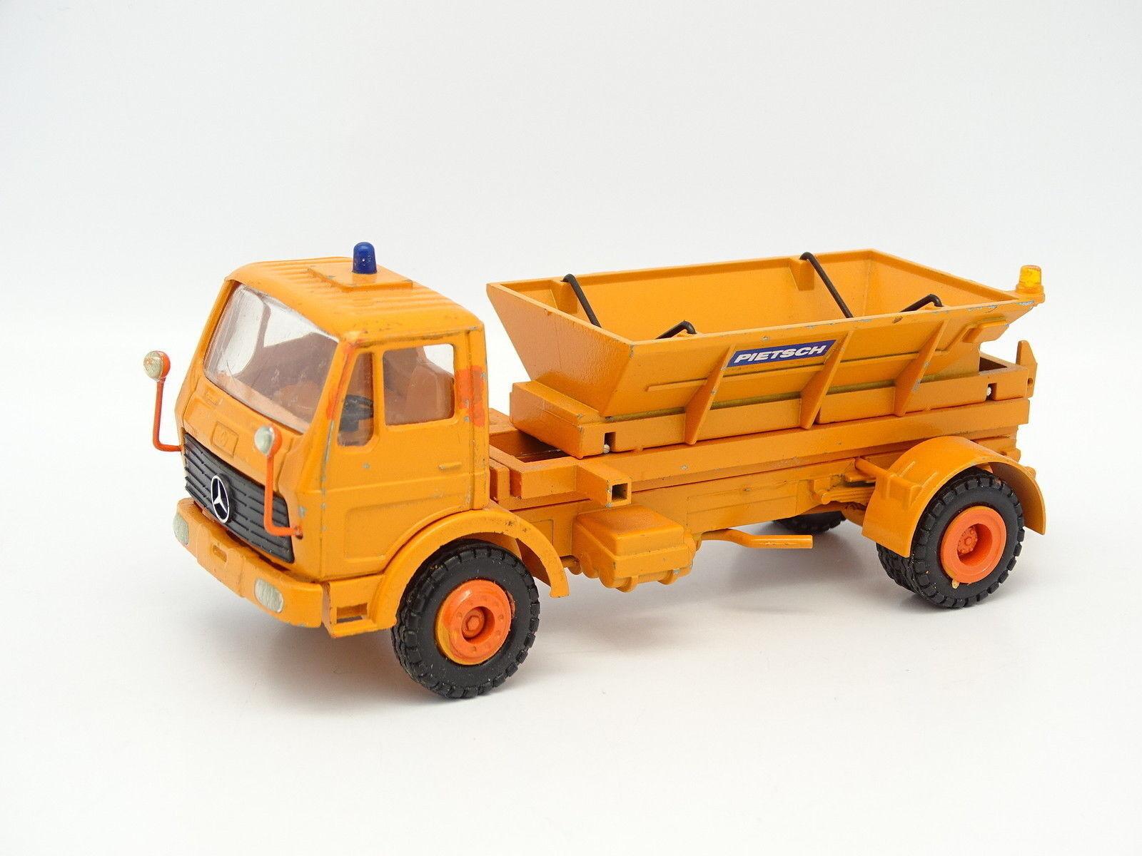 Conrad 1 50 - - - Mercedes Streuwagen Pietsch Saleuse - Chasse Neige 199387
