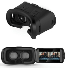 3D Virtual Reality Glasses VR Box Google Cardboard TV Movie Game for Android IOS