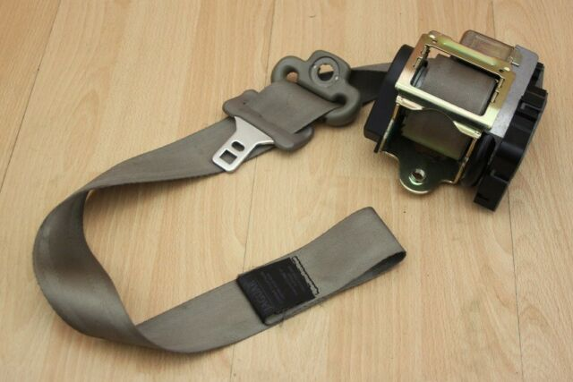 SABLE DRIVERS SEAT BELT BUCKLE Jaguar XK8 XKR 1996-2000