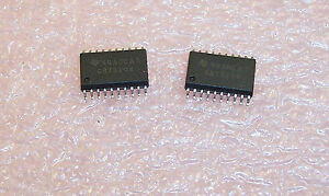 100 SN74LVCH245ADWR TI  SOIC-20 OCTAL BUS TRANSCEIVER NOS ON CUT TAPE QTY