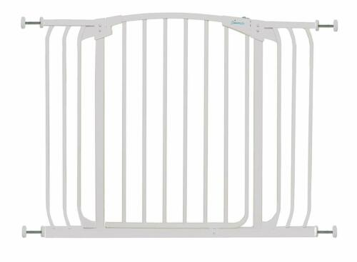 STORK CHILD TODDLER SAFETY STAIR GATE WHITE 97-108 CM
