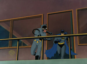 Batman-Animated-Series-Original-Production-Cel-Batman-Catwoman-The-Last-Laugh
