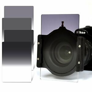 Zomei-4x6in-GND2-4-8-16-Filter-Kit-67-72-77-82mm-Adapter-Ring-Holder-for-Cokin-Z