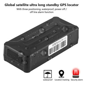 Waterproof Magnet Car GPS GSM Tracker Vehicle Tracking Device Standby 3 Years DH