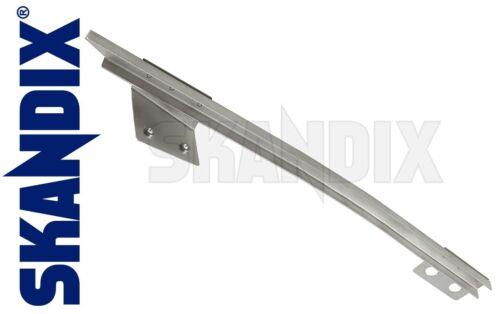 Window guide rail rear// Door Glass Channel driver side Volvo P1800