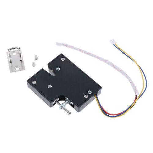 Electric Magnetic Lock Door Access Control DC 12V Cabinet Drawer KSJ-333 TwBSP