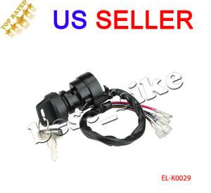 Ignition Key Switch FITS POLARIS TRAIL BOSS 350 2X4 4X4 1990 1991 1992 ATV NEW