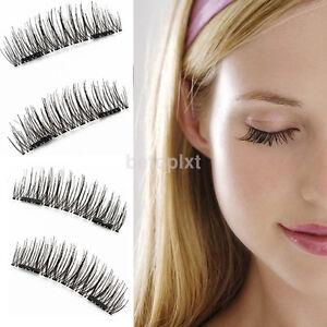 Handmade-False-Eyelashes-Natural-Eye-Lashes-Extension-4-Pcs-3D-Magnetic-Hot-Sale