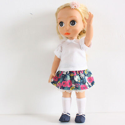 Animator/'s Princess 16 inch Tee Skirt Disney Baby Doll Clothes socks
