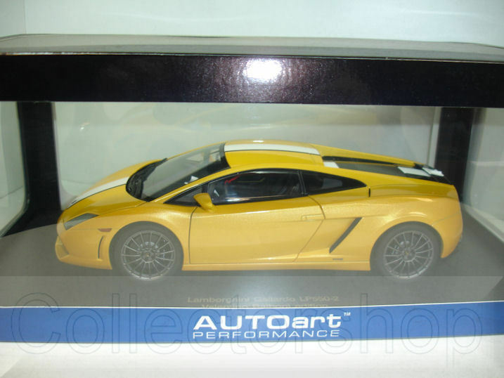 Autoart   Lamborghini Gallardo LP550-2 Balboni jaune Metallic 74632
