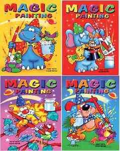 Set-di-4-x-A5-MAGIC-pittura-libri-da-colorare-per-bambini-nessun-pasticcio-Craft-serie-910