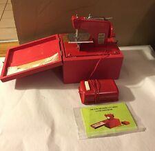 Rare Vintage Boxed Electric Kraemer Little Modiste Battery Sewing Machine,Japan