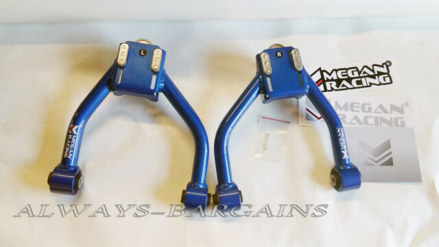 MEGAN RACING FRONT UPPER CAMBER CONTROL ARMS 15-17 GS200T RWD ONLY **IN STOCK**