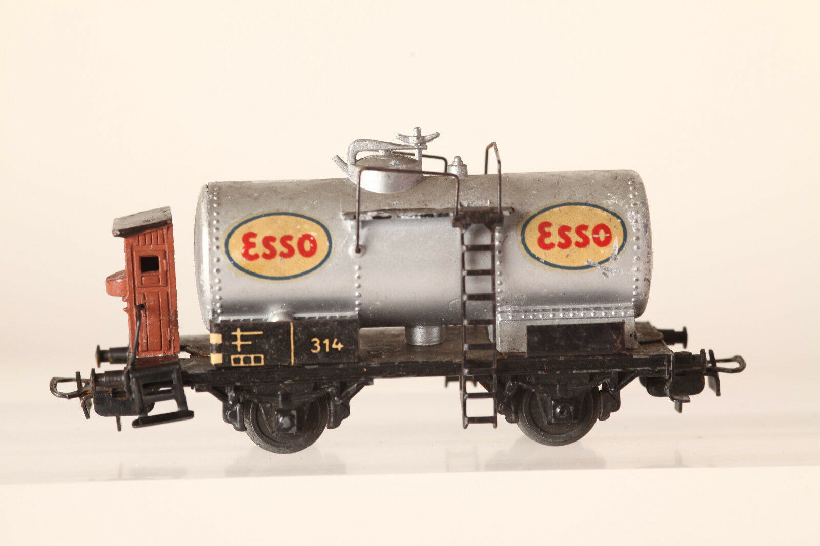 Märklin h0 314 ESSO TANK WAGONS Cast with Bra (43533)