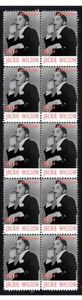 JACKIE-WILSON-MUSIC-ICON-STRIP-OF-10-MINT-VIGNETTE-STAMPS-3