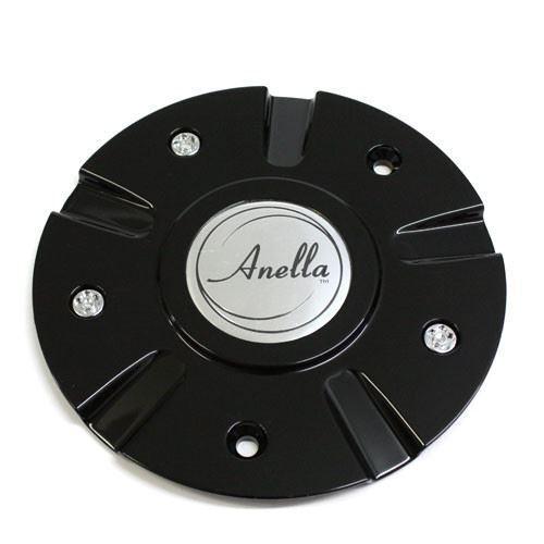 ANELLA WHEEL STARGATE CENTER CAP BLACK NEW 31157