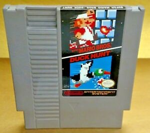 Super-Mario-Bros-Duck-Hunt-Nintendo-NES-Game-Rare-Tested-Works-Great