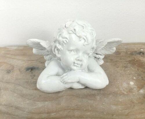 resin and more Concrete mold plaster Cherub figure