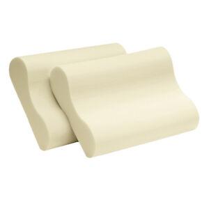 New Serta Memory Foam Contour Pillows Set Of 2 Designed For Nasa Head And Neck
