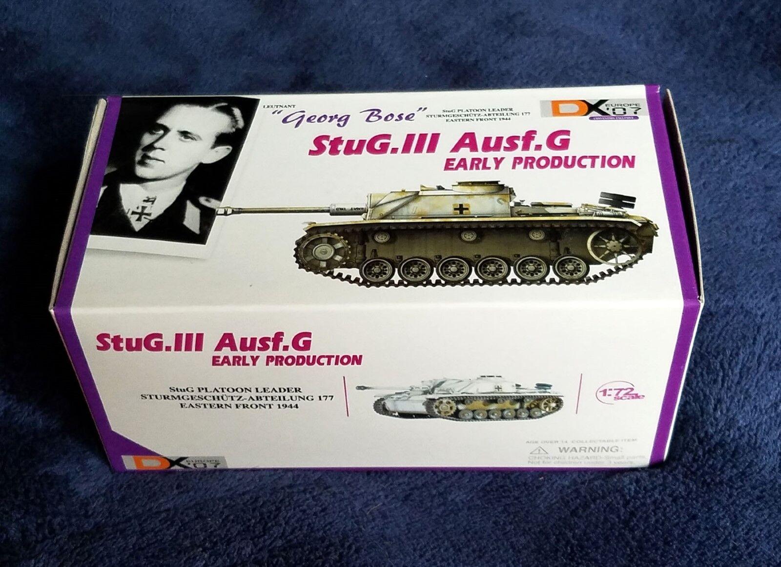 Dragon Armor 60318, 1 72 StuG. III Ausf. G, German Diecast NEW DX Europe '07