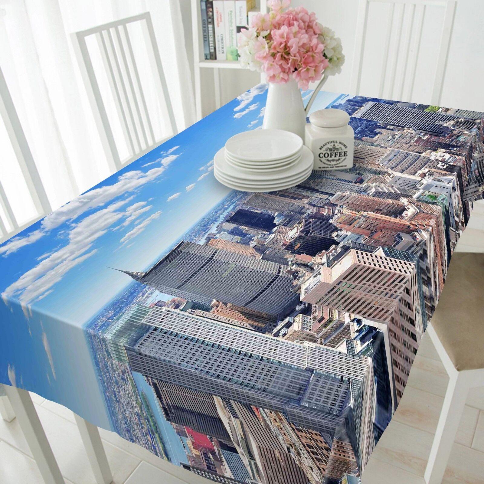 3D Tall Build 221 Tablecloth Table Cover Cloth Birthday Party Event AJ Summer