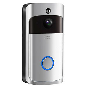 Details about Wireless WIFI Smart Doorbell HD Video Camera Ring IR Night  Vision Home Security