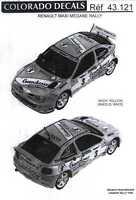 Colorado Decals 1/43 Renault Maxi Megane Rally Part 2