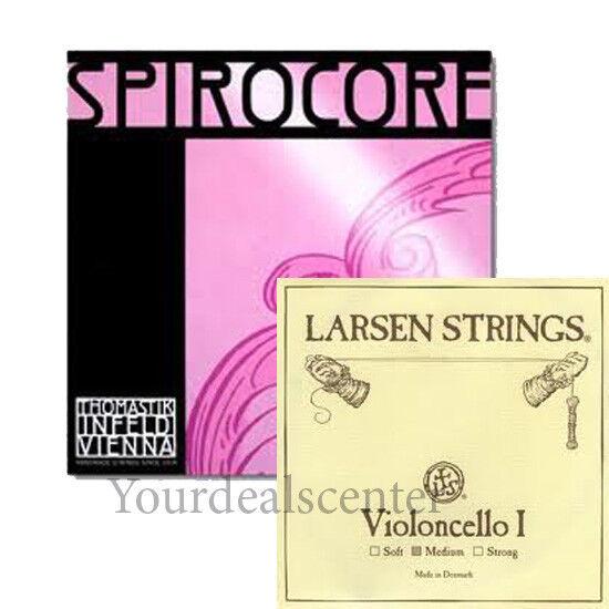 Conjunto Conjunto Conjunto de cuerdas para violonchelo 4 4 Cuerdas De Tungsteno G, C-Larsen A, D medio 3e1c21