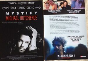 Promotional-Movie-Flyer-Mystify-Michael-Hutchence-INXS-Kylie-Minogue-NOT-A-DVD