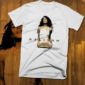 Retro-Rnb-Legend-Aaliyah-t-Shirt-Vintage-Music-Star-RIP-Tee-R-amp-B-S-to-3XL-cotton