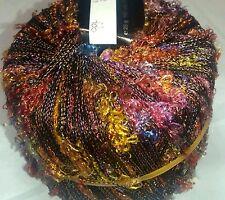 5 Balls Tahki Stacy Charles Pansy Arizona Sunset Green Purple Yellow Orange Yarn