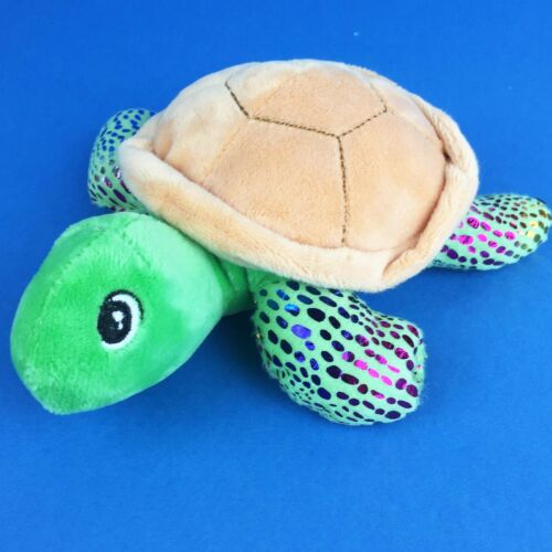 Turtle Cuddly Toy Turtle Soft Toy with Shimmer Turtle Plush Soft Toy