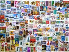 Whole World Mixed 1000 All Different Stamps Small & Large-Genuine Postage Stamps
