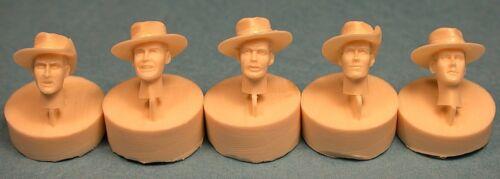 35038 Ultracast Resin 1//35 British Heads WWII with Felt Bush Hats