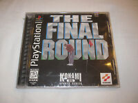 The Final Round (playstation Ps1) Golf Game Brand New, Factory Sealed
