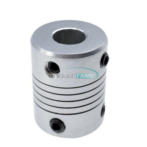 8mmx10mm CNC Moteur 3D printerjaw Arbre Coupleur Pour 8-10 mm Accouplement élastique