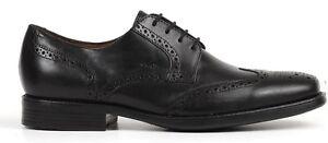 Summer De Classic Homme Noir Brogue Geox Veau Federico Chaussure Cuir U3257p qwt8U1