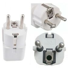 UK TO EU EUROP TOURIST TRAVEL PLUG POWER ADAPTOR